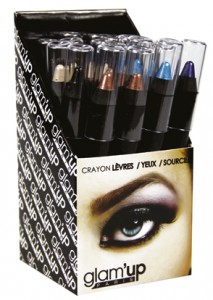 display crayon jumbo yeux Glam'Up
