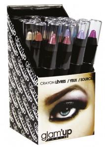 display crayons jumbo lèvres Glam'Up