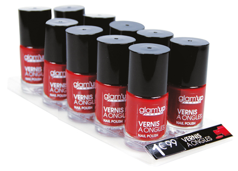 display vernis glam'up