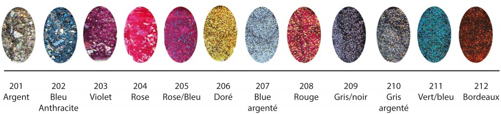 Coloris vernis à ongles So Glitter! Glam'Up